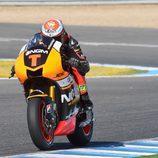 Simone Corsi con la Yamaha del equipo Forward Racing