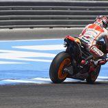 Marc Márquez el más rápido del test post-GP en Jerez