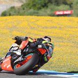 Simone Corsi buscó los límites en sus últimas vueltas