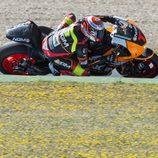 Simone Corsi supo lo que es pilotar una MotoGP