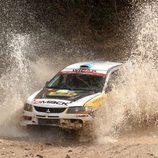 Juan Carlos Alonso en el Rally de Argentina
