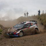 Robert Kubica en acción en el Rally de Argentina