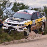 Juan Carlos Alonso domina el Rally de Argentina en producción