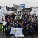 Nueve victorias consecutivas para Volkswagen en el WRC