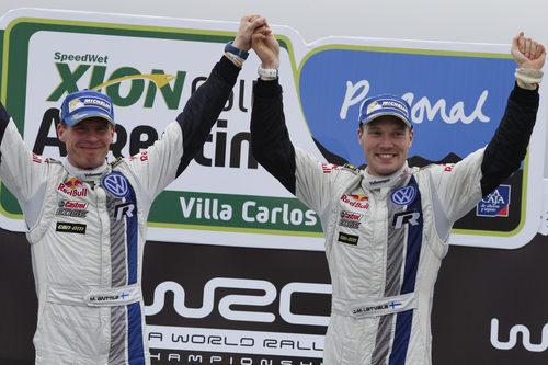 Jari-Matti Latvala ganador del Rally de Argentina 2014