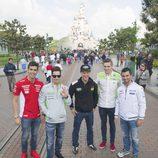 DisneyLand recibe la comitiva de MotoGP antes del GP de Francia