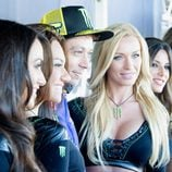 Valentino Rossi y las chicas Monster Energy