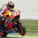 Márquez al frente del FP1 y el FP2 en Le Mans