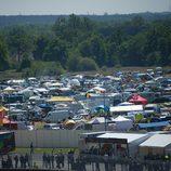 Ambiente inmejorable para acoger MotoGP en Le Mans