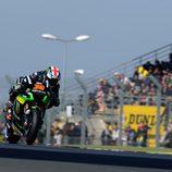 Bradley Smith mejor piloto Yamaha en el viernes francés