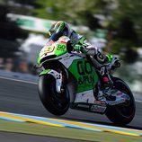 Álvaro Bautista en acción en Le Mans
