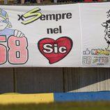 Marco Simoncelli presente en Le Mans y en el recuerdo