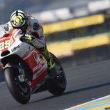 Andrea Iannone termina bastante flojo la Q2 de Le Mans