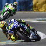 Brillante carrera de Valentino Rossi en Francia