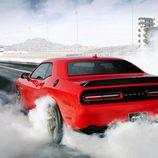 Dodge Challenger Hellcat - Drag-race