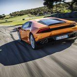 Lamborghini Huracán LP610-4 - trasera carrocería naranja