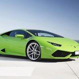Lamborghini Huracán LP610-4 - verde posando