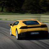 Lamborghini Huracán LP610-4 - carrocería amarilla zaga