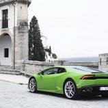 Lamborghini Huracán LP610-4 - carrocería verde exterior