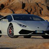 Lamborghini Huracán LP610-4 - carrocería blanca frontal