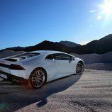 Lamborghini Huracán LP610-4 - carrocería blanca atardecer