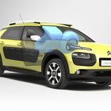 Citroën C4 Cactus - Airbag In Roof