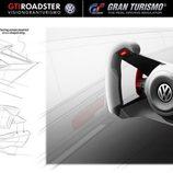 VW GTI Vision Gran Turismo - volante