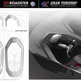VW GTI Vision Gran Turismo - habitáculo