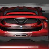VW GTI Vision Gran Turismo - trasera