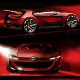 VW GTI Vision Gran Turismo - bocetos