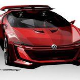 Volkswagen GTI Vision Gran Turismo - sketches