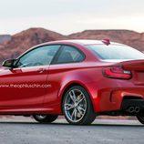 BMW M2 - render trasera