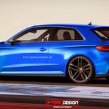 Audi A3 Quattro concept 3 puertas