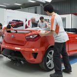 Desarrollo del Seat Ibiza Cupster - Montaje