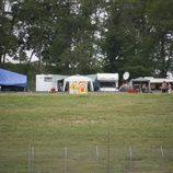 Los fans acampados en Mugello desde el miércoles