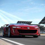 Volkswagen Vision Gran Turismo - En plena carrera