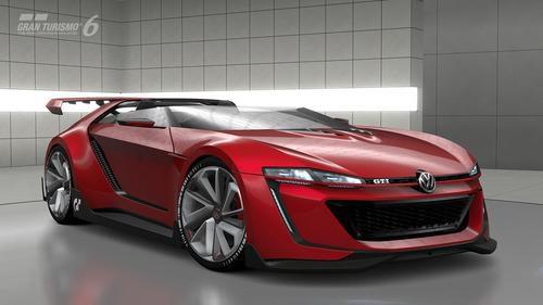 Volkswagen Vision Gran Turismo - Frontal
