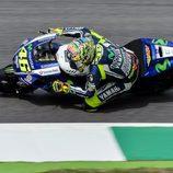 Elección equivocada de Rossi en la Q2 de Mugello