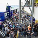 Los fans de Mugello de MotoGP son muy apasionados
