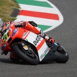 Michele Pirro se quedó colgado en la Q1 'de casa'