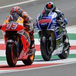 El duelo Márquez vs Lorenzo ha monopolizado la atención