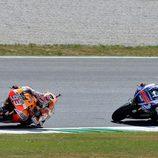 Los dos protagonistas del GP de Italia de MotoGP 2014