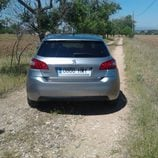 Prueba Peugeot 308 - plano trasero