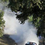 Robert Kubica en acción en el shakedown de Cerdeña
