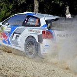 Sebastien Ogier en el shakedown del Rally de Italia
