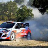 Juho Hänninen termina octavo en el shakedown del Rally de Italia