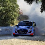 Thierry Neuville, el i20 WRC más fuerte en el shakedown