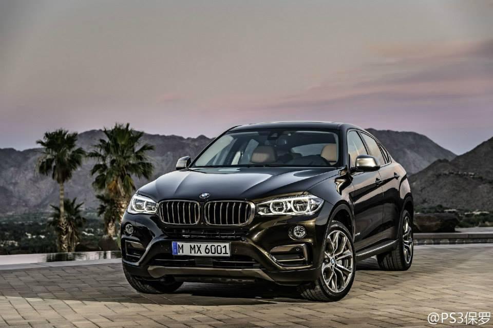 Filtrado el BMW X6 - Frontal