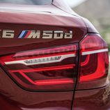 BMW X6 2014 - Detalle anagrama X6 M50d