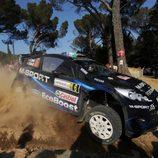 Rally bastante completo de Elfyn Evans en Cerdeña
